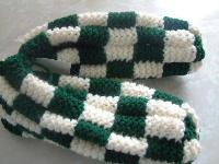 Free Crochet Phentex Slipper Pattern : PHENTEX MINUTE CROCHET SLIPPERS PATTERN ? Free Crochet ...
